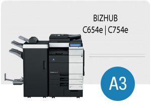 KM bizhub C654e i C754e